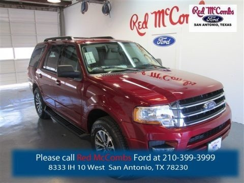 Ruby Red Metallic 2015 Ford Expedition XLT