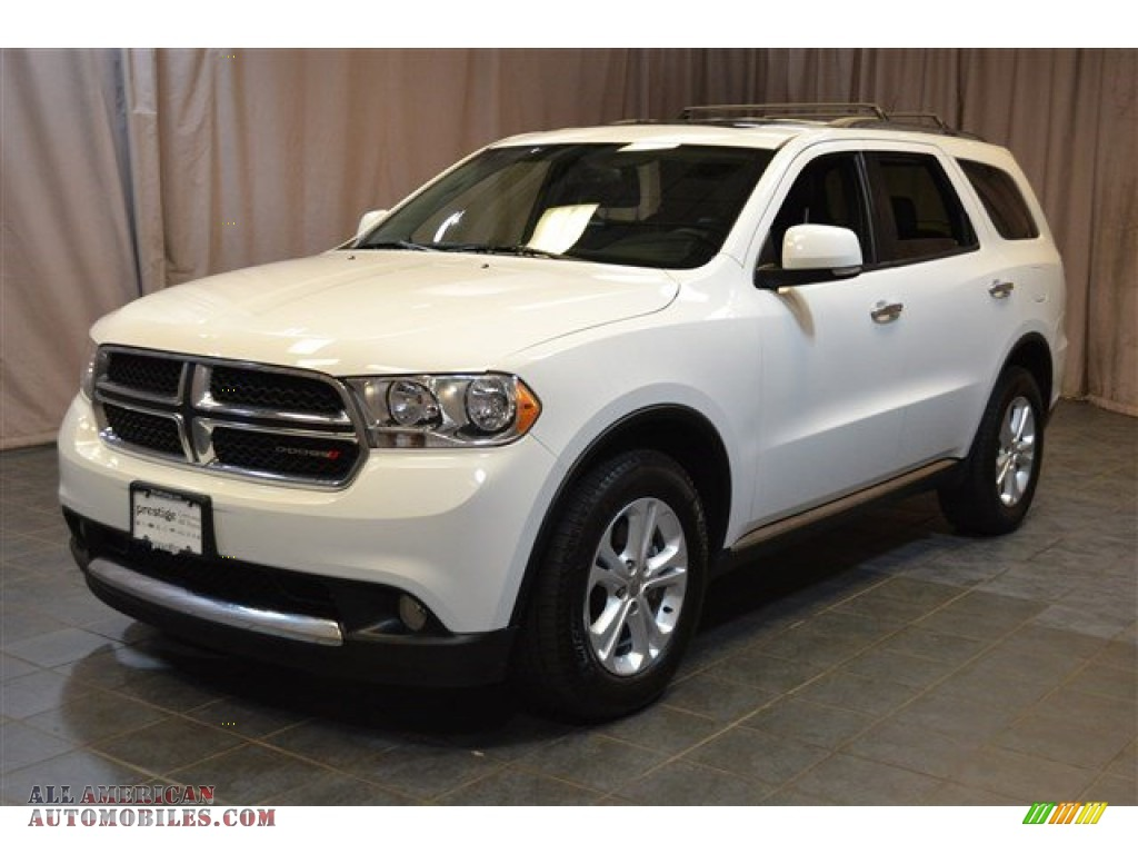 2013 dodge durango crew awd in bright white 674308 all. Black Bedroom Furniture Sets. Home Design Ideas