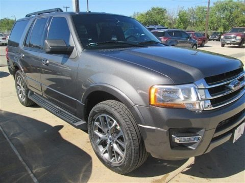 Magnetic Metallic 2015 Ford Expedition XLT