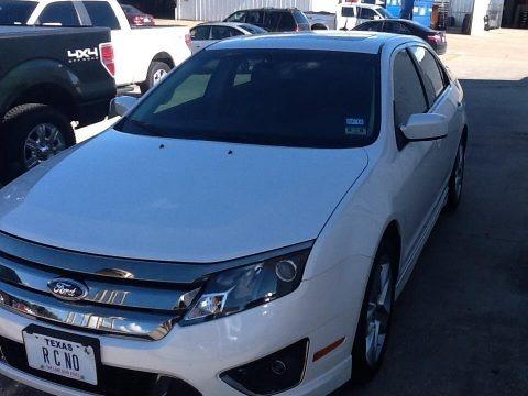 White Platinum Tri-Coat 2012 Ford Fusion Sport