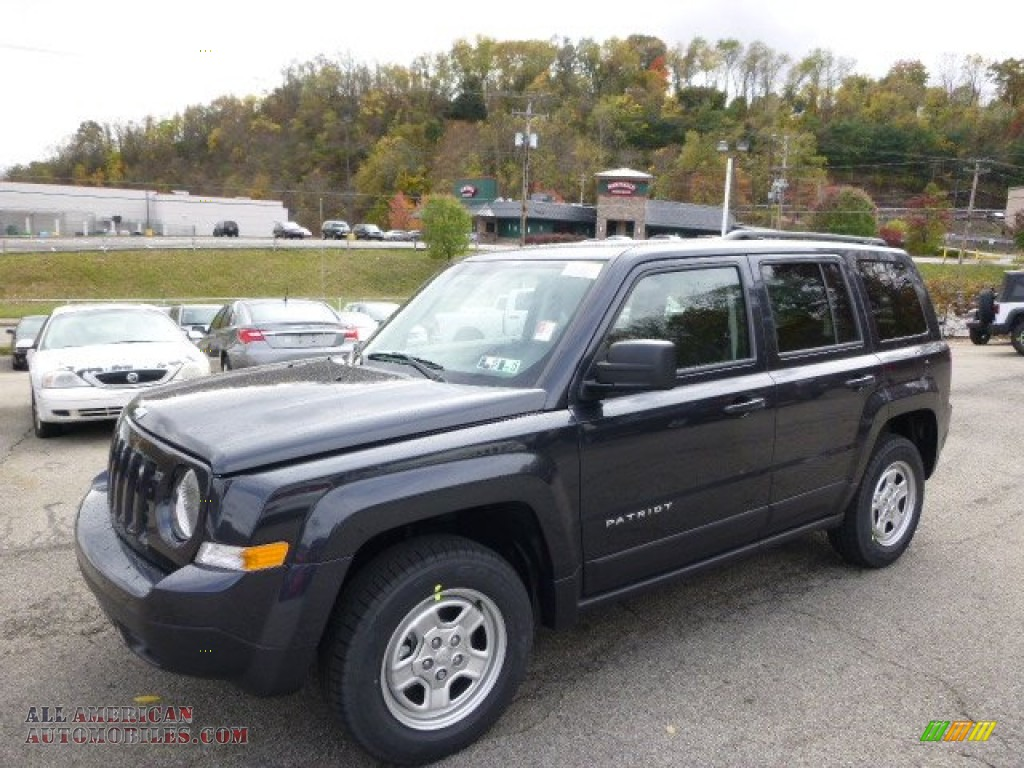 2015 jeep patriot sport 4x4 in maximum steel metallic. Black Bedroom Furniture Sets. Home Design Ideas
