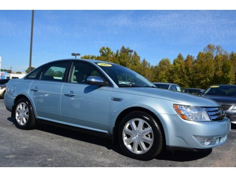 Light Ice Blue Metallic 2008 Ford Taurus Limited