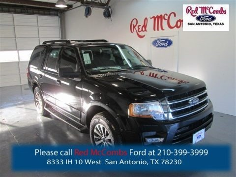 Tuxedo Black Metallic 2015 Ford Expedition XLT