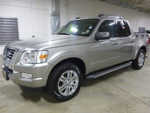Silver Birch Metallic 2008 Ford Explorer Sport Trac Limited 4x4