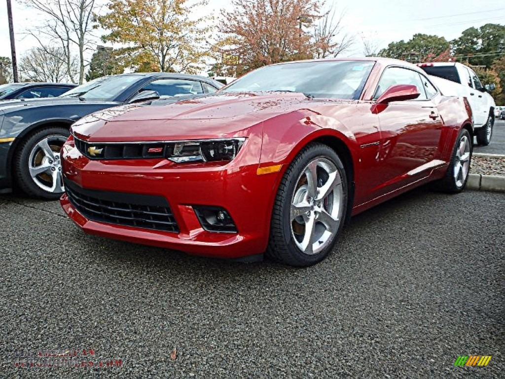 2015 chevrolet camaro ss rs coupe in red rock metallic 147240 all american automobiles buy. Black Bedroom Furniture Sets. Home Design Ideas