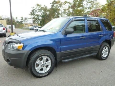 Vista Blue Metallic 2007 Ford Escape XLT V6 4WD