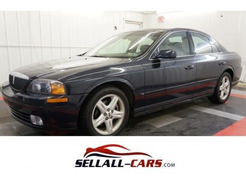 Black 2000 Lincoln LS V8