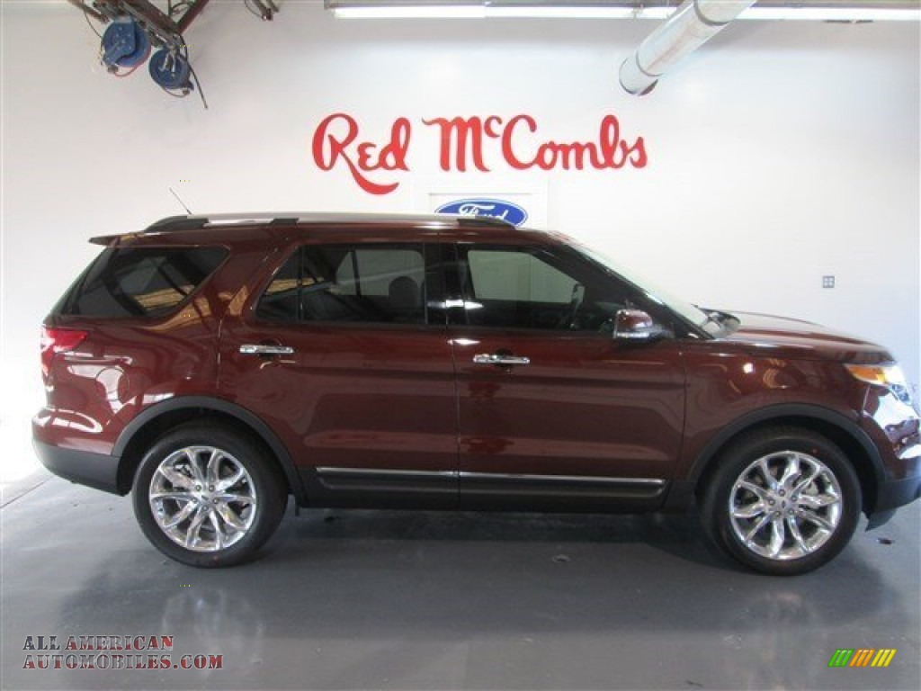 2015 Ford Explorer Limited In Bronze Fire Photo 9