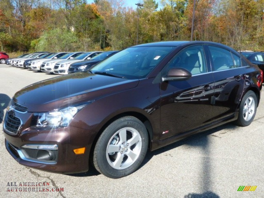 2015 Chevrolet Cruze Lt In Autumn Bronze Metallic 123341