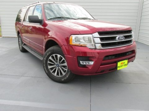 Ruby Red Metallic 2015 Ford Expedition EL XLT