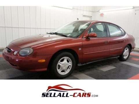 Toreador Red Metallic 1999 Ford Taurus SE