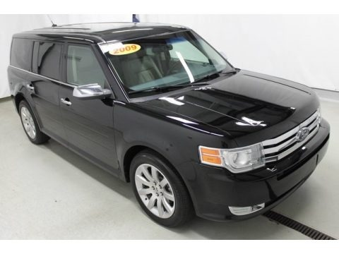 Black 2009 Ford Flex Limited AWD