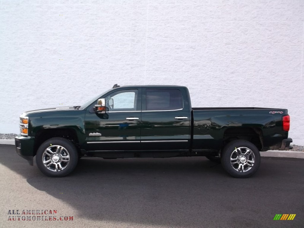 2015 chevrolet silverado 2500hd high country crew cab 4x4 in rainforest green metallic photo 2. Black Bedroom Furniture Sets. Home Design Ideas