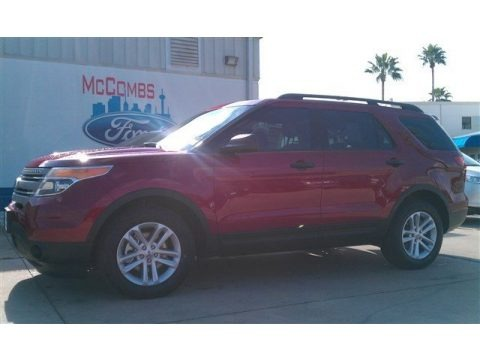 Ruby Red 2015 Ford Explorer FWD