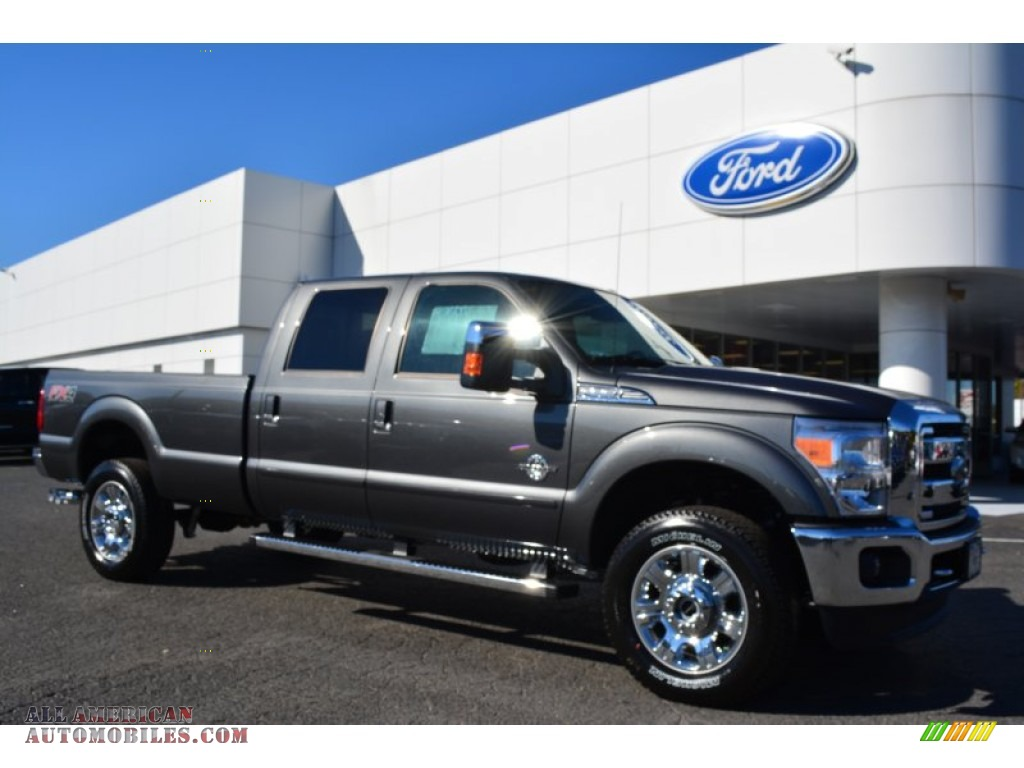 2015 ford f350 super duty lariat crew cab 4x4 in magnetic b58944 all american automobiles. Black Bedroom Furniture Sets. Home Design Ideas