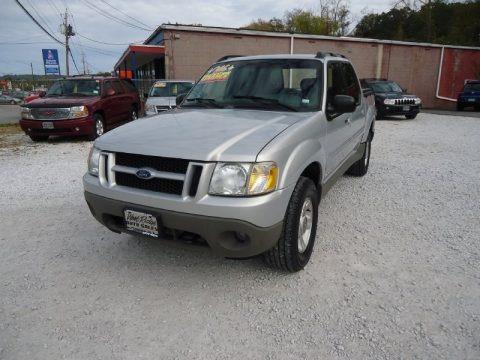 Silver Birch Metallic 2002 Ford Explorer Sport Trac 4x4