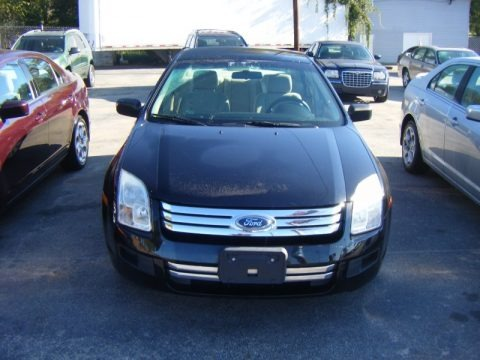 Black 2007 Ford Fusion S