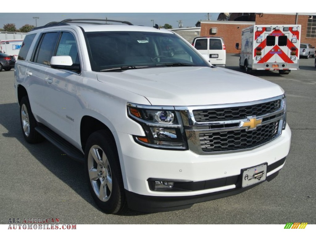 2015 chevrolet tahoe lt 4wd in summit white 301758 all american automobiles buy american. Black Bedroom Furniture Sets. Home Design Ideas