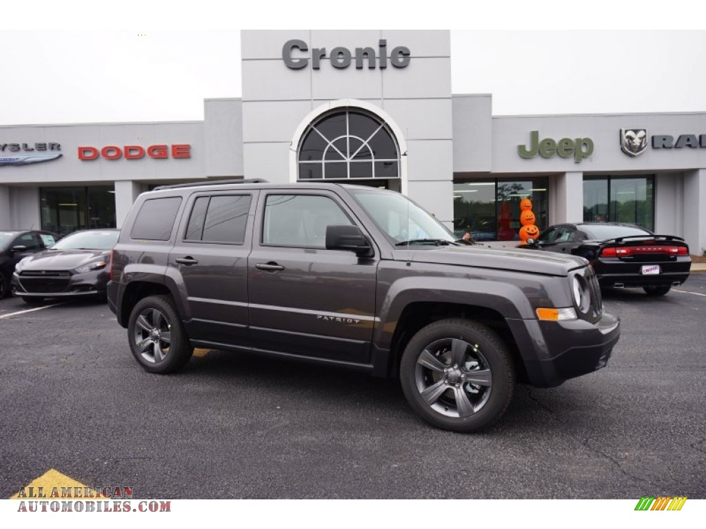 Ron Lewis Jeep >> 2015 Jeep Patriot High Altitude in Granite Crystal Metallic - 157071 | All American Automobiles ...
