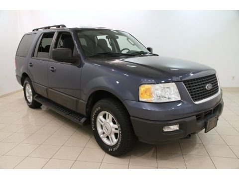 Medium Wedgewood Blue 2005 Ford Expedition XLT 4x4