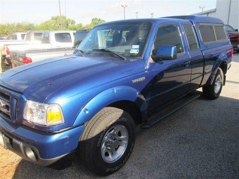Vista Blue Metallic 2010 Ford Ranger Sport SuperCab
