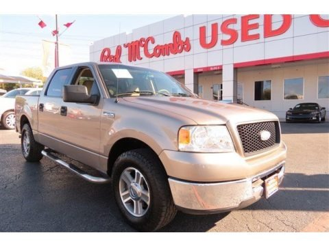 Arizona Beige Metallic 2006 Ford F150 XLT SuperCrew