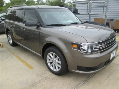 Mineral Gray 2014 Ford Flex SE