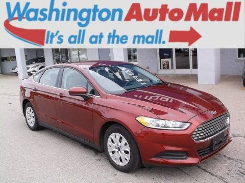 Sunset 2014 Ford Fusion S