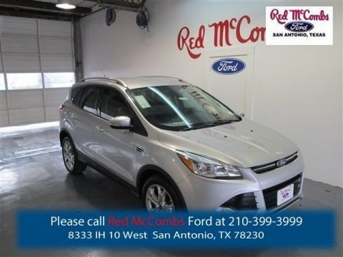 Ingot Silver Metallic 2015 Ford Escape Titanium