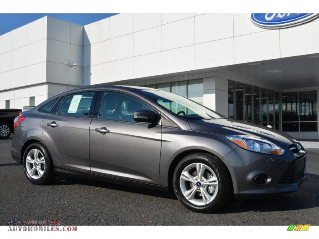 2014 ford focus se sedan in sterling gray 425830 all american automobiles buy american. Black Bedroom Furniture Sets. Home Design Ideas