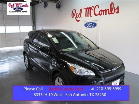 Tuxedo Black Metallic 2015 Ford Escape SE