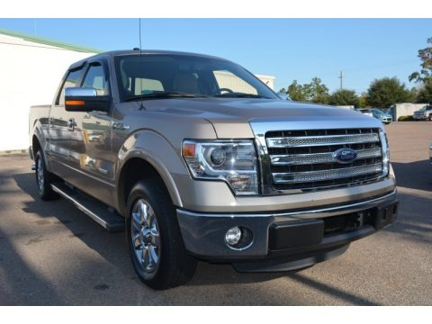 Pale Adobe Metallic 2013 Ford F150 Lariat SuperCrew