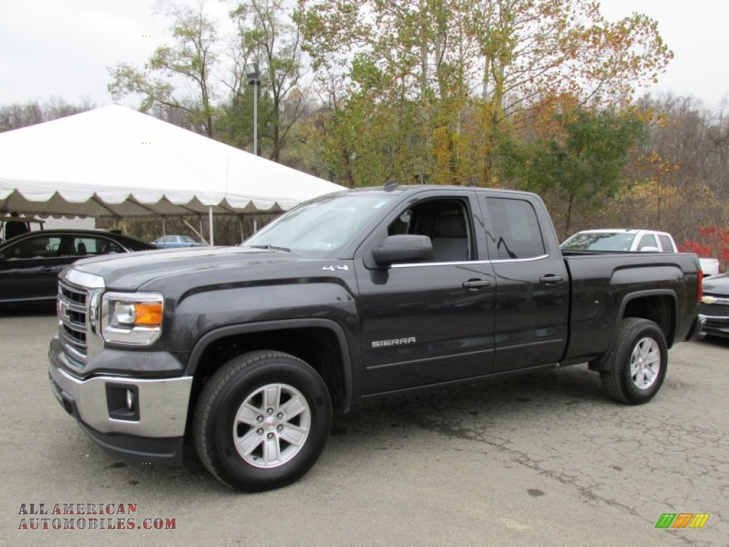 2014 gmc sierra 1500 sle double cab 4x4 in iridium metallic 137034 all american automobiles. Black Bedroom Furniture Sets. Home Design Ideas