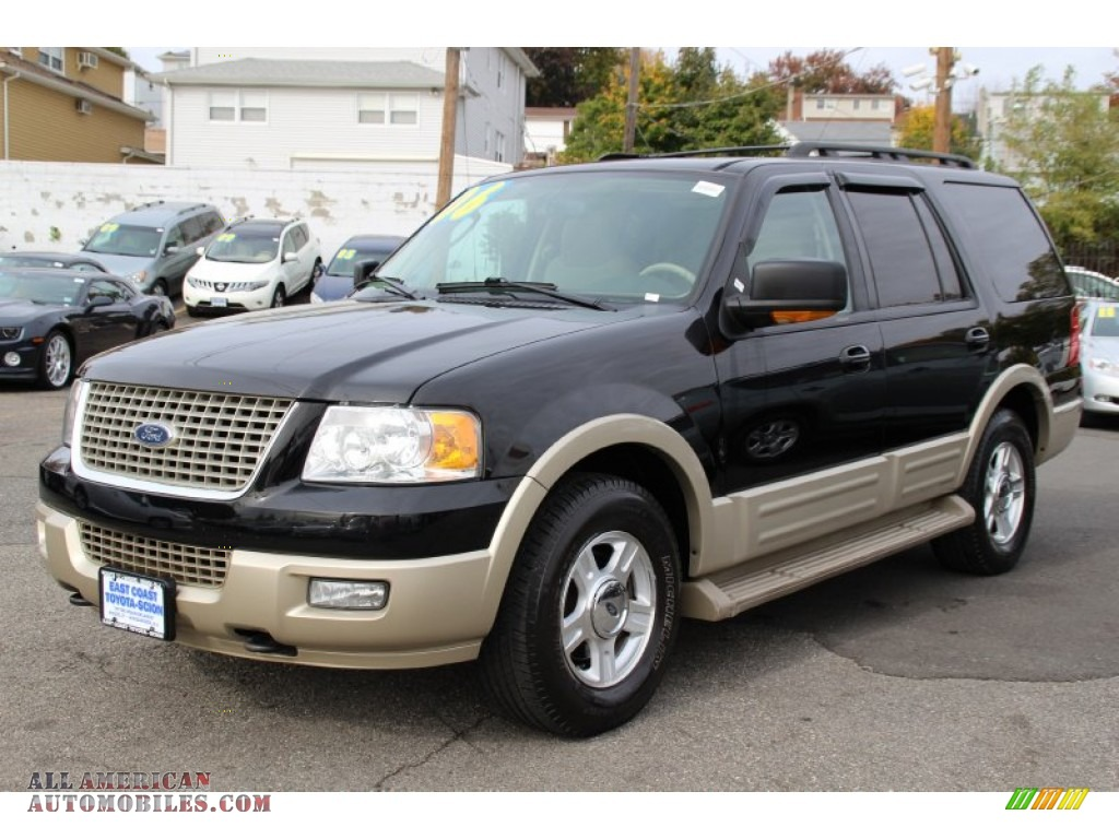 2006 ford expedition eddie bauer 4x4 in black photo 6 a03360 all american automobiles buy. Black Bedroom Furniture Sets. Home Design Ideas