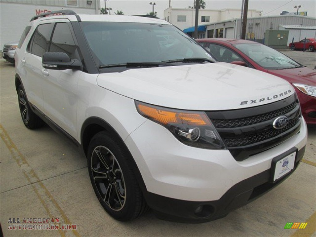 2015 ford explorer sport 4wd in white platinum photo 6 b10254 all american automobiles. Black Bedroom Furniture Sets. Home Design Ideas