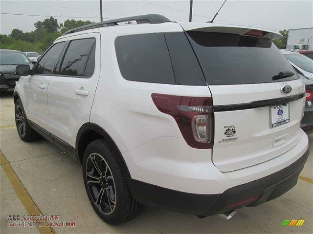 2015 ford explorer sport 4wd in white platinum photo 11 b10254 all american automobiles. Black Bedroom Furniture Sets. Home Design Ideas