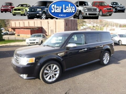Dark Ink Blue Metallic 2009 Ford Flex Limited AWD