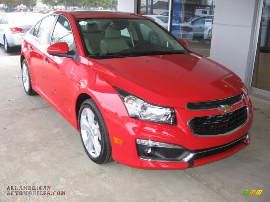 2015 chevrolet cruze ltz in red hot 127262 all american automobiles buy american cars for. Black Bedroom Furniture Sets. Home Design Ideas