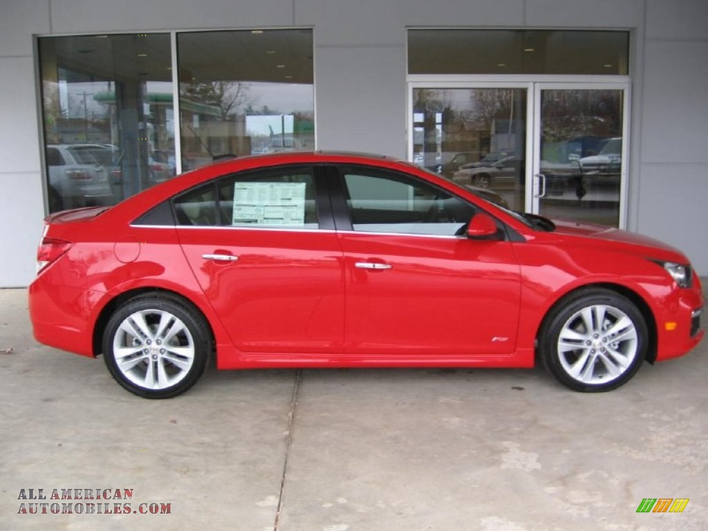 2015 chevrolet cruze ltz in red hot photo 2 127262 all american automobiles buy american. Black Bedroom Furniture Sets. Home Design Ideas