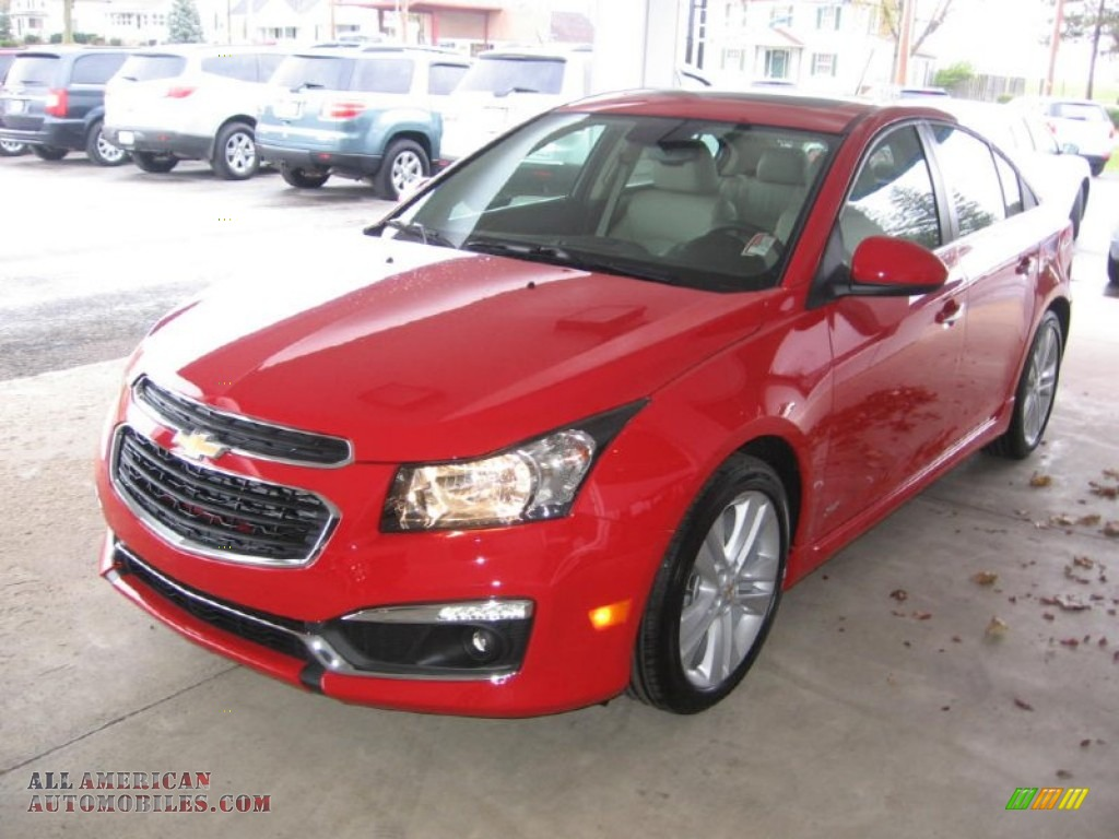 2015 chevrolet cruze ltz in red hot photo 20 127262 all american automobiles buy american. Black Bedroom Furniture Sets. Home Design Ideas