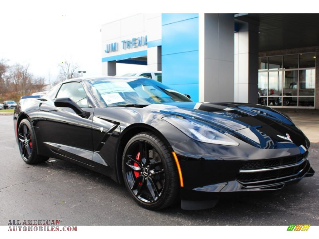 2015 chevrolet corvette stingray coupe z51 in black 105410 all american automobiles buy. Black Bedroom Furniture Sets. Home Design Ideas