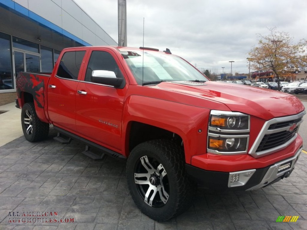 2015 Chevrolet Silverado 1500 Lingenfelter Reaper Crew Cab 4x4 in Victory Red photo #4 - 154234 ...