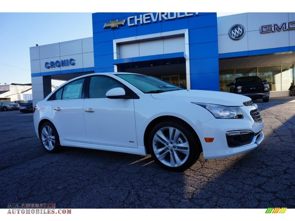 2015 chevrolet cruze ltz in summit white photo 3 119143 all american automobiles buy. Black Bedroom Furniture Sets. Home Design Ideas