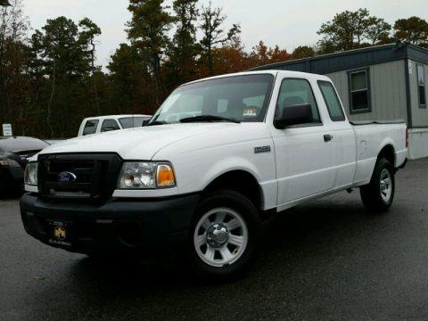 Oxford White 2008 Ford Ranger XL SuperCab