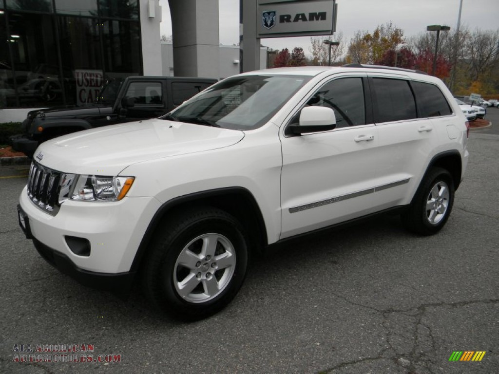 2012 jeep grand cherokee laredo 4x4 in stone white for Steve white motors inc