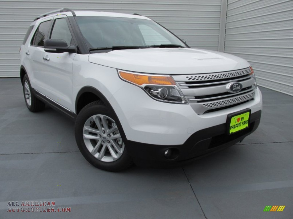 2015 ford explorer xlt in oxford white b18542 all american automobiles buy american cars. Black Bedroom Furniture Sets. Home Design Ideas