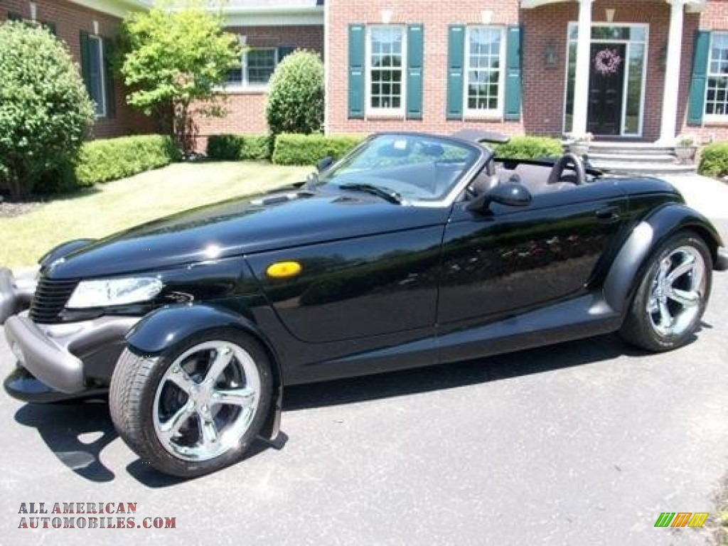 1999 Prowler Roadster - Prowler Black / Agate photo #1