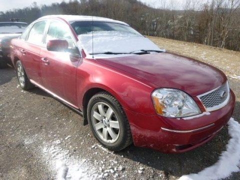 Redfire Metallic 2007 Ford Five Hundred SEL