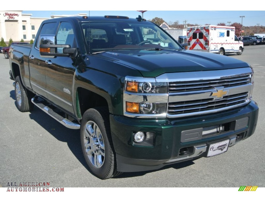 2015 chevrolet silverado 2500hd high country crew cab 4x4 in rainforest green metallic photo 10. Black Bedroom Furniture Sets. Home Design Ideas