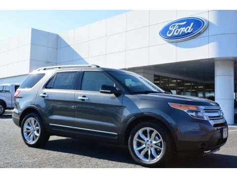 Magnetic 2015 Ford Explorer XLT